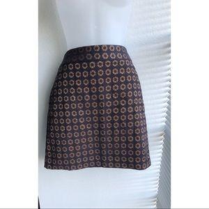 Ann Taylor Loft Jacquard Skirt